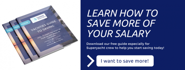 yacht crew guide to savings